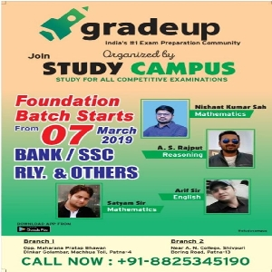 GRADEUP ORGANIZED BY STUDY CAMPUS